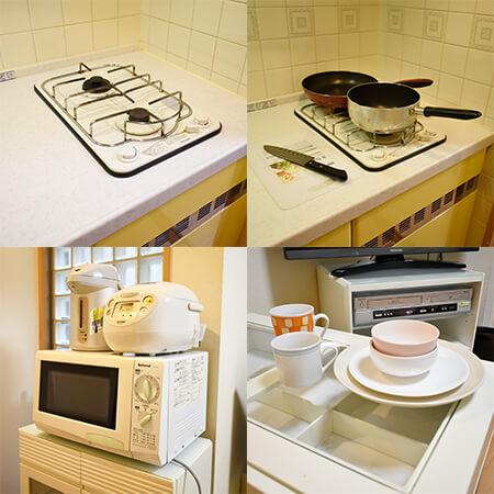 AS堺筋本町 【スタンダード】 キッチン設備