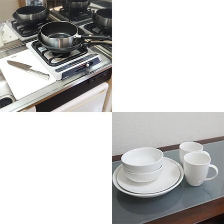 AS内本町 【スタンダード】 キッチン備品