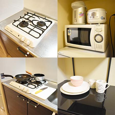 AS天王寺 【スタンダード】 キッチン設備