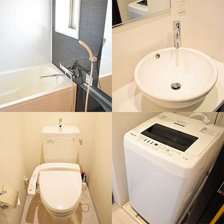 AS心斎橋5【ハイグレードA】浴室