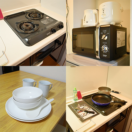AS大阪・梅田北2 【エクセレントA】 キッチン設備