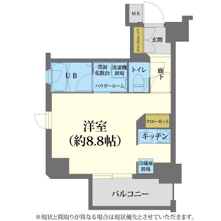 AS梅田北2 【エクセレントA】 間取り