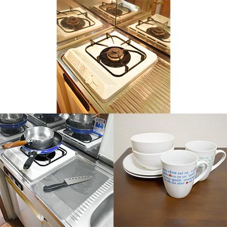 AS天満橋1 【スタンダード】 キッチン設備