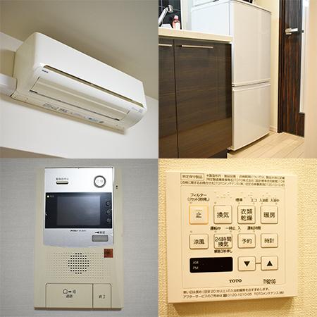 AS江坂駅前 【ハイグレードB】 キッチン設備