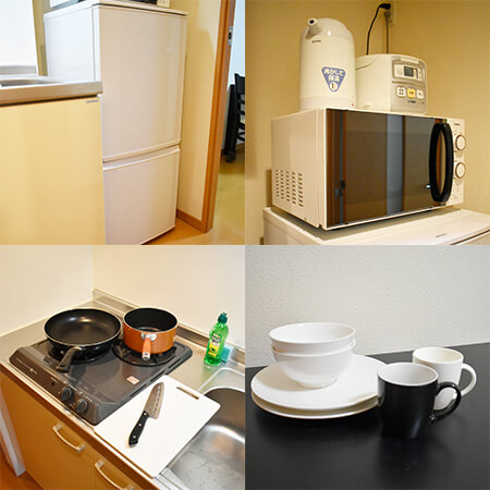 AS難波 【スタンダード】 キッチン設備
