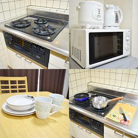 AS新大阪1 【プレミアム】 キッチン設備