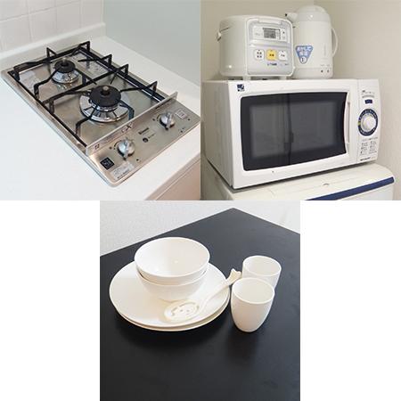 AS心斎橋東 【ハイグレード】 キッチン周辺設備