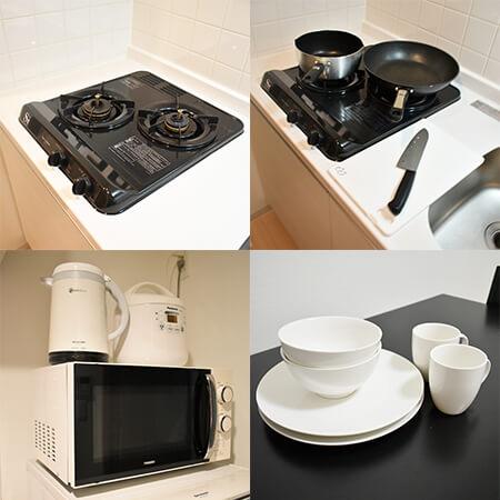 AS新大阪2 【ハイグレード】 キッチン設備