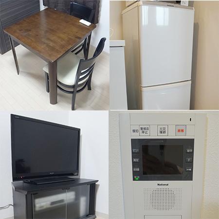AS新大阪駅前 【エクセレントA】 家具・洋室設備