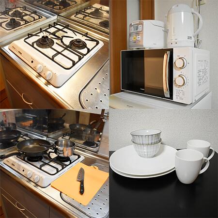 AS四条烏丸3 【ハイグレードB】 キッチン設備
