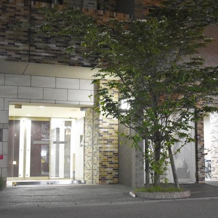 AS大阪・梅田北2【エクセレントB】外玄関