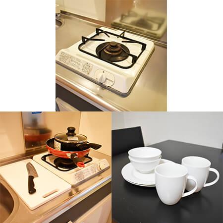 AS烏丸五条1 【スタンダードB】 キッチン設備