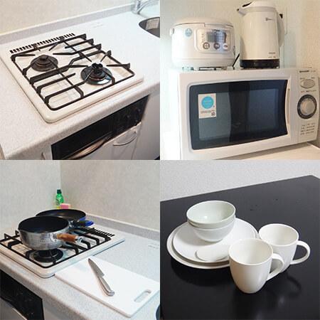AS烏丸御池3 【ハイグレードB】 キッチン設備