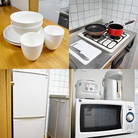 AS新大阪4 【ハイグレード】 キッチン設備