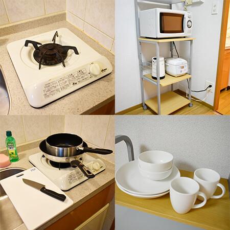 AS大阪駅前2【スタンダード】 キッチン設備