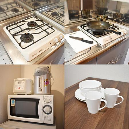 AS四条烏丸3 【スタンダードC】 キッチン設備