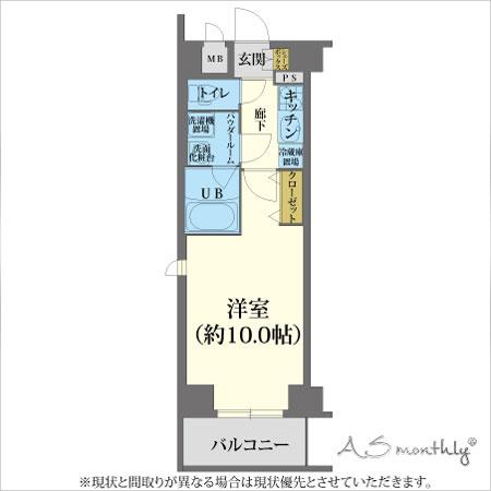 A-grade御所前3 【ウィークリー・マンスリーマンション】