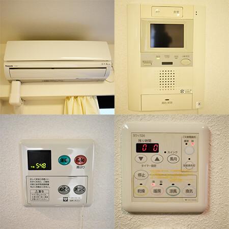 AS京都市役所前3 【ハイグレード】 室内設備