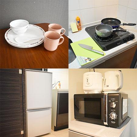 AS弁天町2 【スタンダード】 キッチン設備