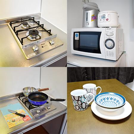 AS新大阪 【エクセレント】 キッチン設備