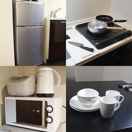 AS二条城【ハイグレード】キッチン設備