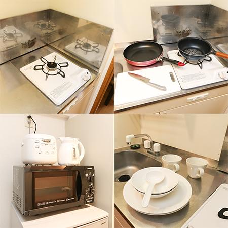 AS福岡大手門 【スタンダード】 キッチン設備