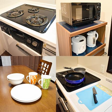 四条烏丸 1LDK キッチン設備