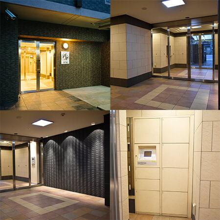 AS京都駅西 【スタンダードA】 外玄関等