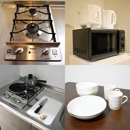 AS中之島4 【スタンダード】 キッチン設備