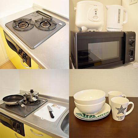 AS難波2 【プレミアム】 キッチン設備