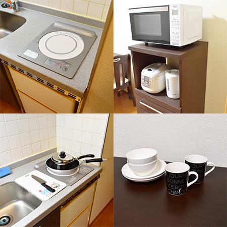 梅田フロンティア キッチン設備