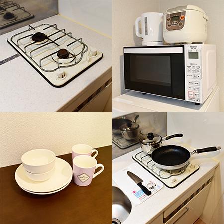 AS祇園河原町 【ハイグレード】 キッチン設備