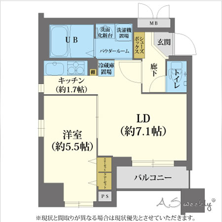 心斎橋東エイペックス-1(58)間取り