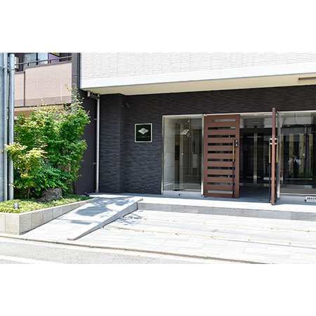 京都駅前ミッドシティ(65)外玄関