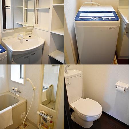 ASmonthly烏丸東(53)洗面台・洗濯機・お風呂場・トイレ