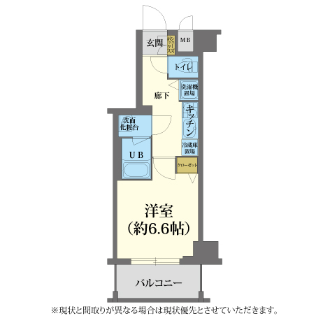 AS東寺前【スタンダードB】 間取り