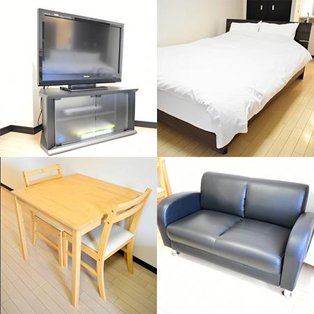 大阪城ウエストⅡ-2 (136) 家具