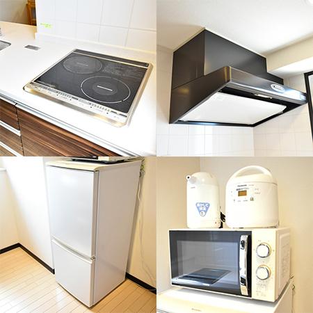 大阪城ウエストⅡ-2 (136) キッチン設備