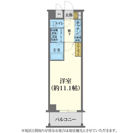 AS京都市役所前3 【エクセレント】 間取り