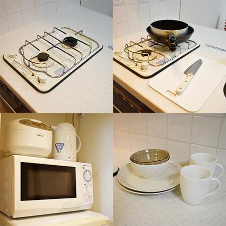 AS堺筋本町 【ハイグレードA】 キッチン設備