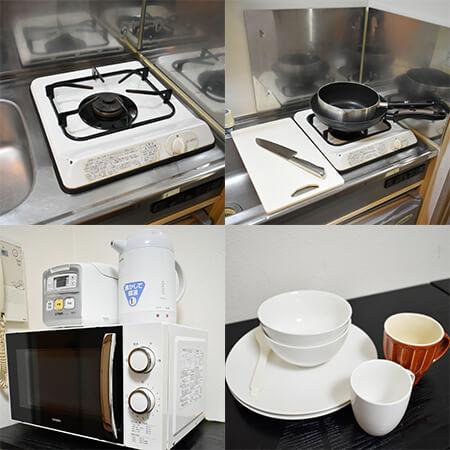 AS新大阪3 【スタンダード】 キッチン設備