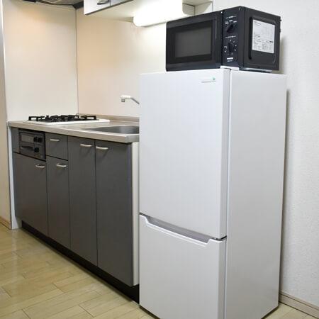 AS大阪・梅田3 【ハイグレード】 キッチン
