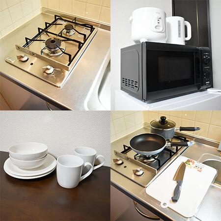 江戸堀-1(132) キッチン設備