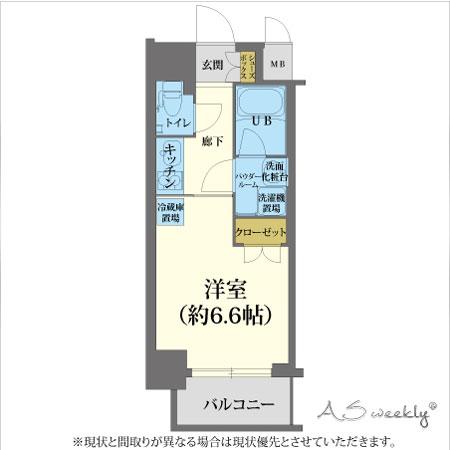 A-grade中之島1-A 【ウィークリー・マンスリーマンション】